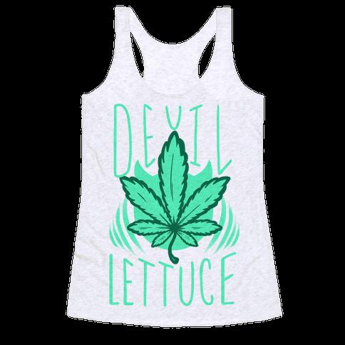 Devil Lettuce Racerback Tank Top