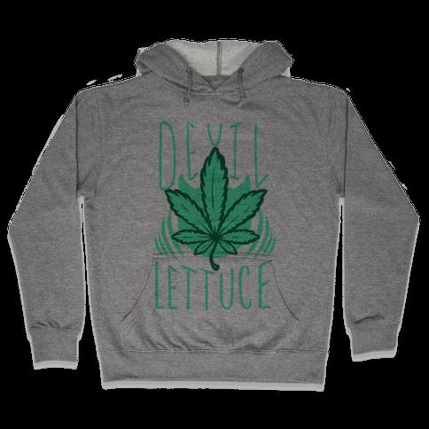Devil Lettuce Hooded Sweatshirt