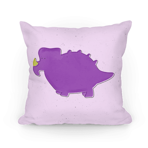 Cute Purple Dinosaur