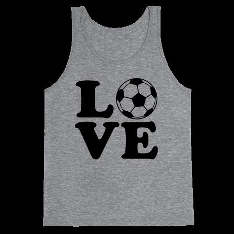 Love Soccer Tank Top