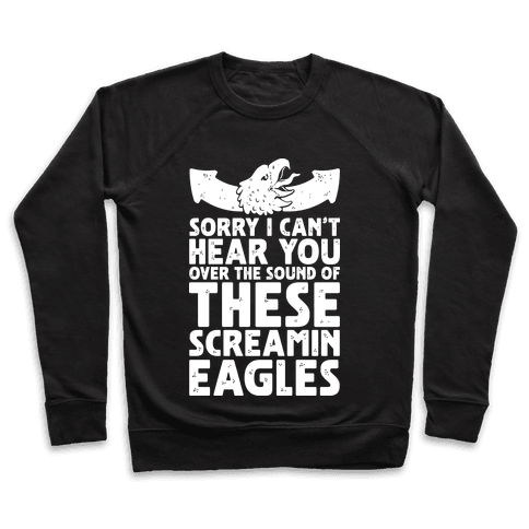 Can't Hear You Over These Screamin' Eagles  Pullover