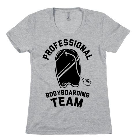 Professional Body Boarding Team Womens T-Shirt