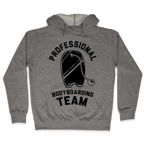 Professional Body Boarding Team Hooded Sweatshirt
