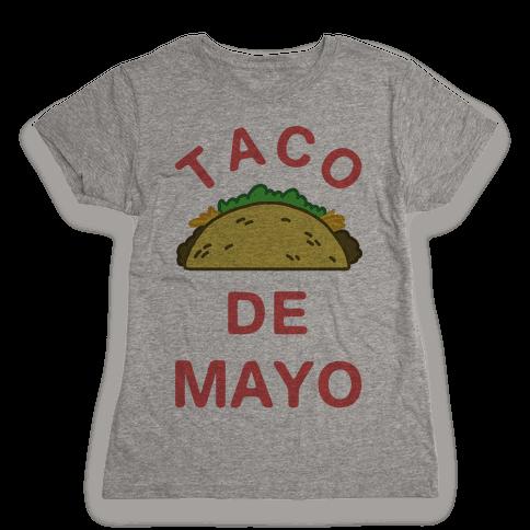 Taco De Mayo Womens T-Shirt