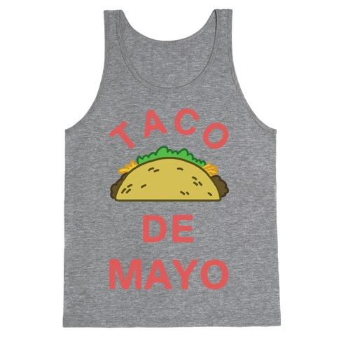 Taco De Mayo Tank Top