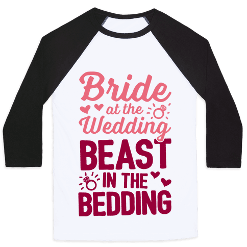 Bride At The Wedding Baseball Tee