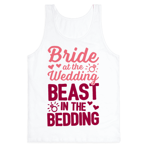 Bride At The Wedding Tank Top