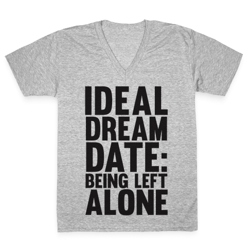 Ideal Dream Date V-Neck Tee Shirt