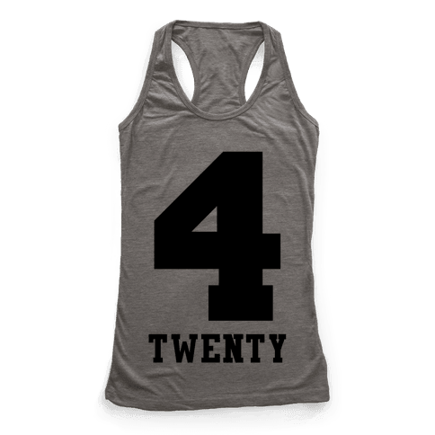 4 Twenty Racerback Tank Top