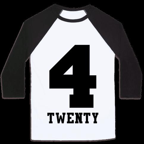 4 Twenty Baseball Tee