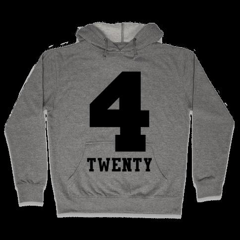 4 Twenty Hooded Sweatshirt
