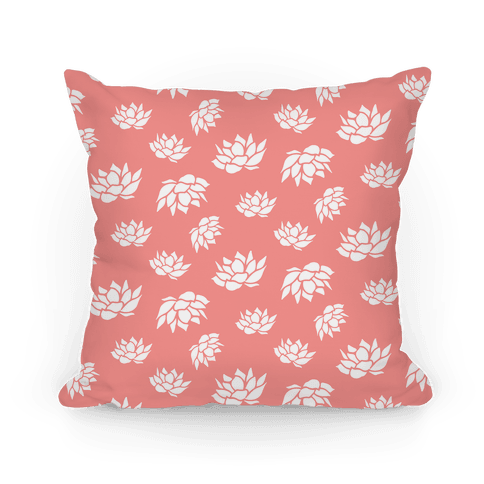 Pink Lotus Flower Pattern