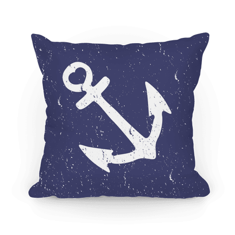 Love Anchor Pillow