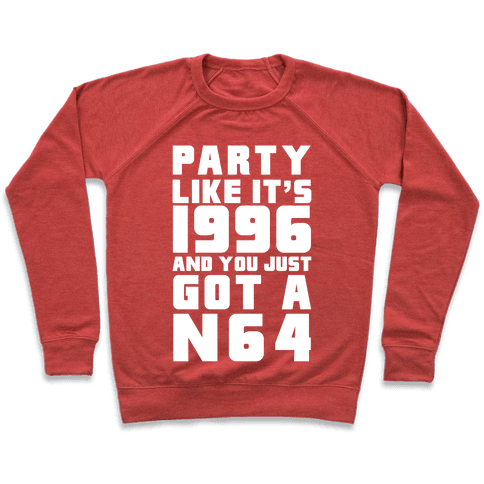 Party Like It's 1996 And You Just Got A N64 Pullover