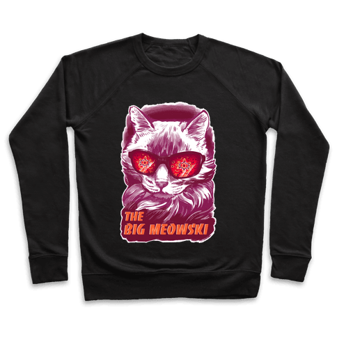The Big Meowski Pullover