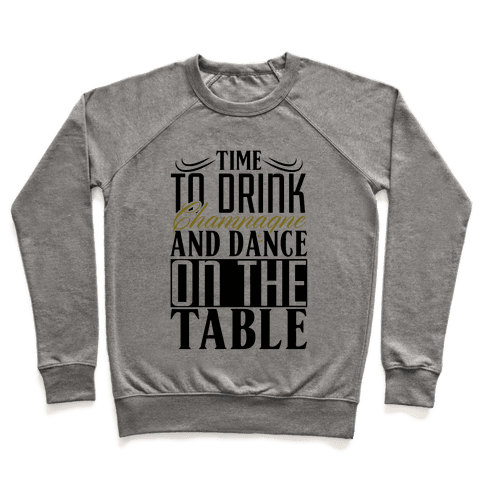 Champagne Drinking Pullover