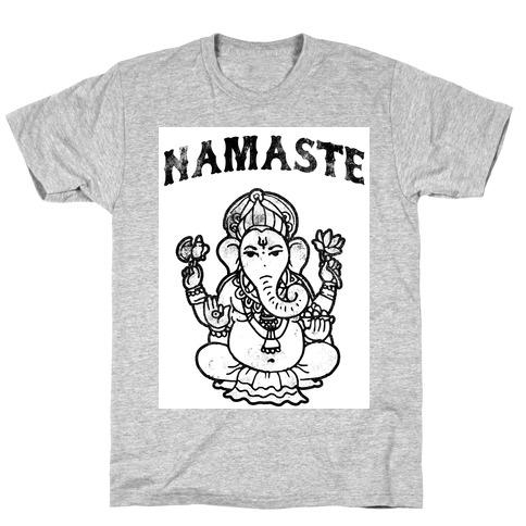 d3b56feb Namaste T-Shirts | LookHUMAN