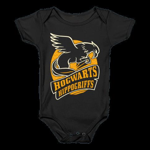 Hogwarts Hippogriffs Baby Onesy