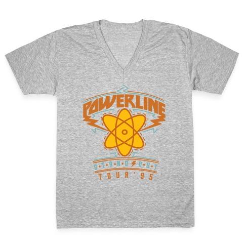 Powerline Tour V-Neck Tee Shirt