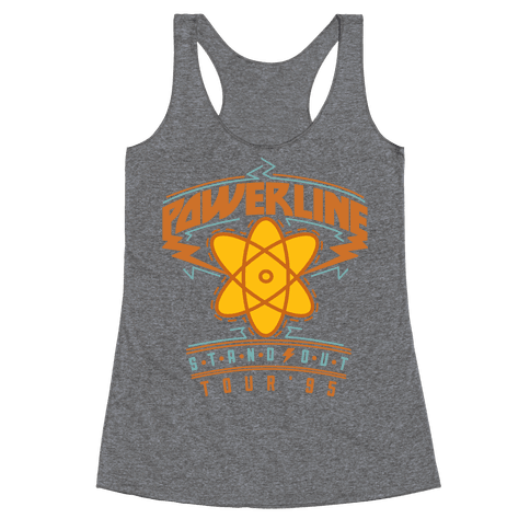 Powerline Tour Racerback Tank Top
