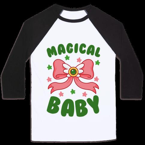 Magical Baby (Pluto) Baseball Tee