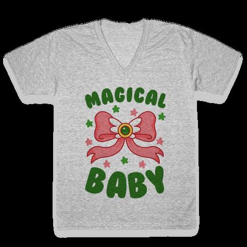 Magical Baby (Pluto) V-Neck Tee Shirt