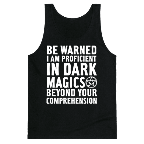 Be Warned Tank Top