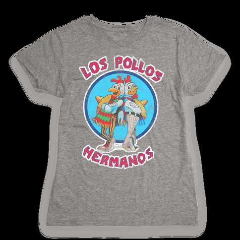 Los Pollos Hermanos (Vintage Shirt) Womens T-Shirt
