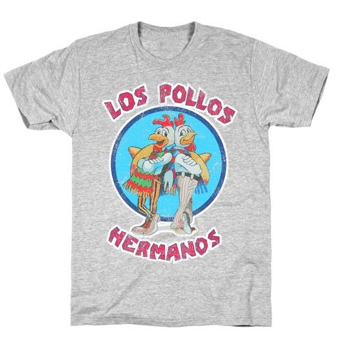 Los Pollos Hermanos (Vintage Shirt) Mens T-Shirt