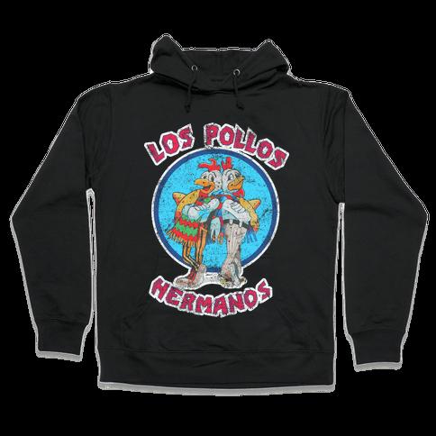 Los Pollos Hermanos (Vintage Shirt) Hooded Sweatshirt