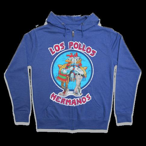 Los Pollos Hermanos (Vintage Shirt) Zip Hoodie