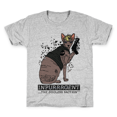 Inpurrrgent Cat Kids T-Shirt