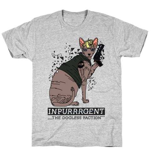 Inpurrrgent Cat T-Shirt