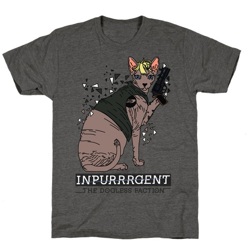 Inpurrrgent Cat T-Shirt