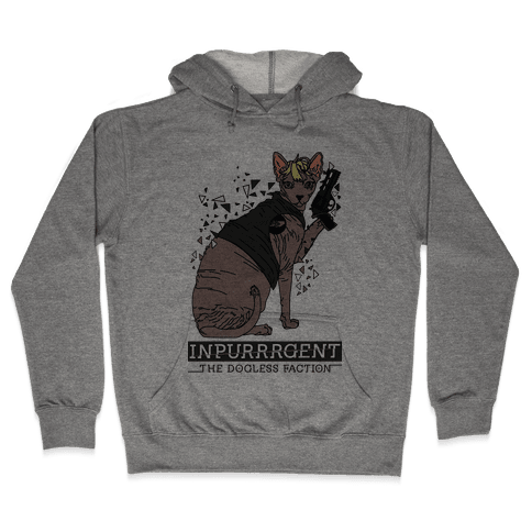 Inpurrrgent Cat Hooded Sweatshirt
