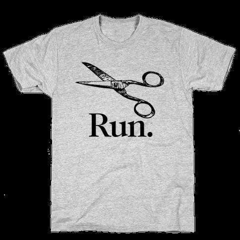 Run With Scissors Mens T-Shirt