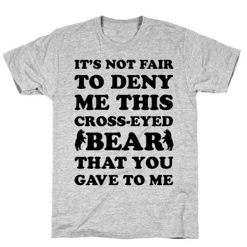 Cross-Eyed Bear T-Shirt