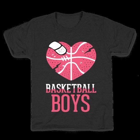 Basketball Boys Kids T-Shirt
