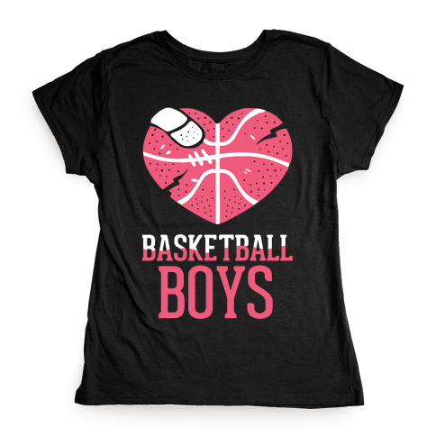 Basketball Boys Womens T-Shirt