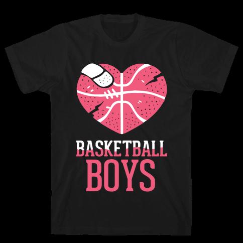 Basketball Boys Mens T-Shirt