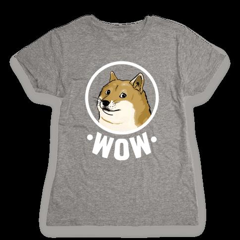 Doge Womens T-Shirt