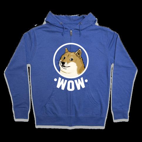 Doge Zip Hoodie