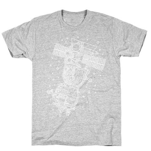 Soyuz-TMA Cross Section T-Shirt