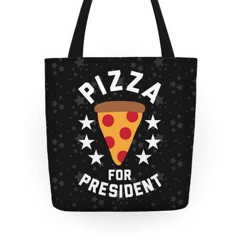 Pizza For President Tote