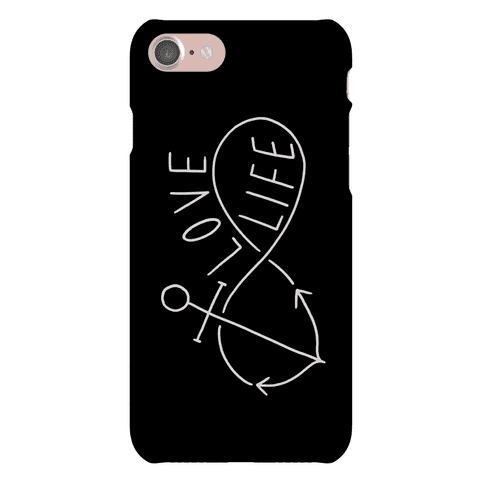 Love Life (Anchor Infinity) Phone Case
