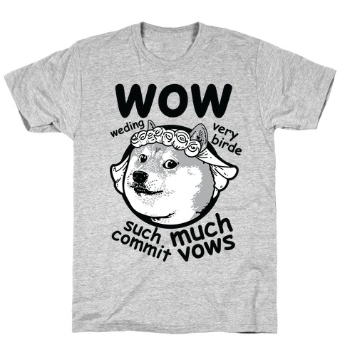 Wedding Doge T-Shirt