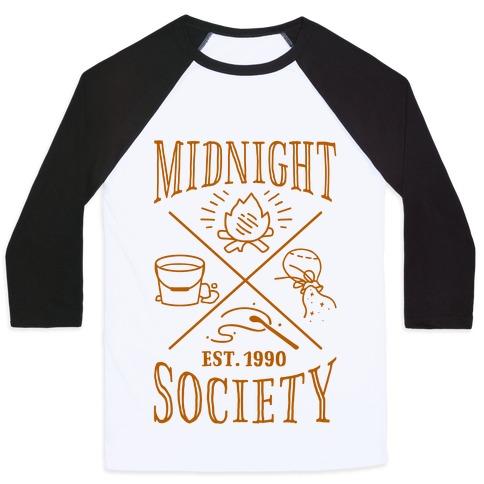 d162e1027 Midnight Society Baseball Tees | LookHUMAN