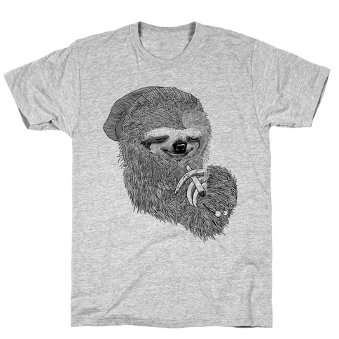Dank Sloth (Black and White) T-Shirt