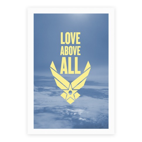 Love Above All Poster