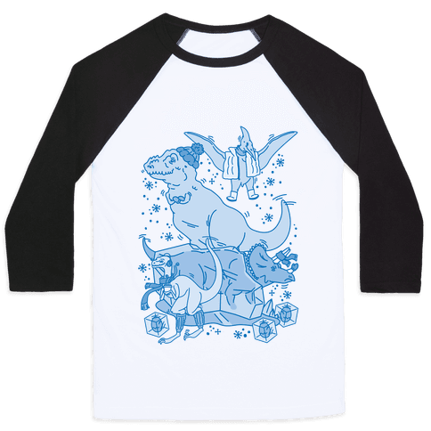 The Ice Age Baseball Tee
